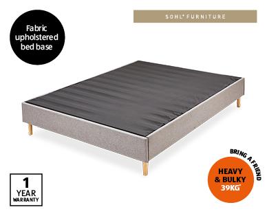 Grey Queen Bed Base