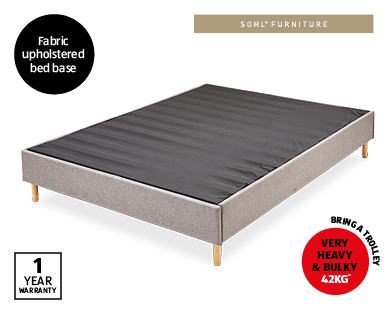 Grey King Bed Base