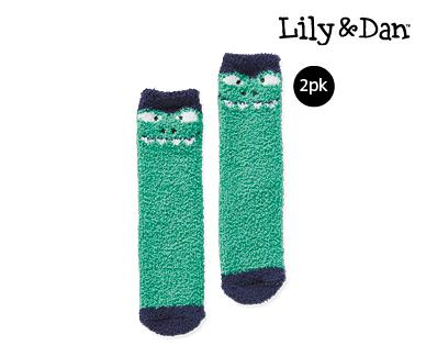 Children's Bed Socks 2 pack