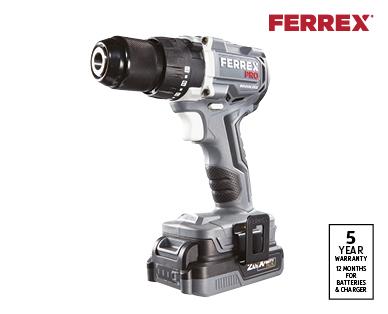 20V Drill with Brushless Motor
